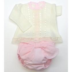 Sweater+diaper cover Md.1266